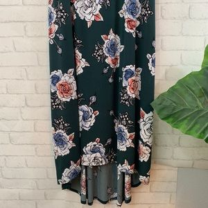 Maurices Dresses - Floral high low maurices dress size 3X!